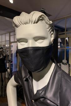 Mund- und Nasenschutz  Maske Herren Leder