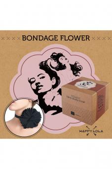 Happy Lola Bondage Flower black